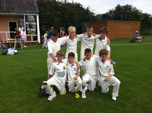 u10s West Essex League-winning side at Stansted Hall 20 July 2014