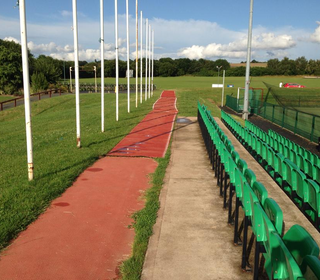 Pathway Made for Spectators