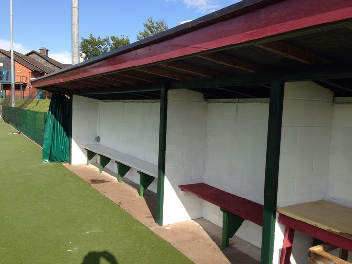 Pitch 2 Dug-Outs