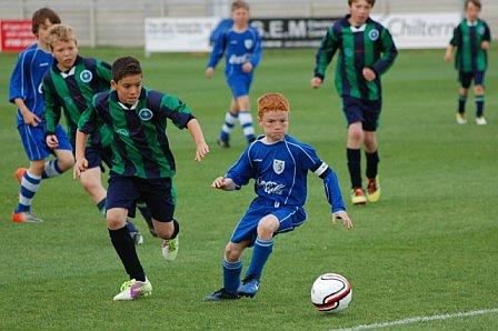 Marlow FC U11s Youth v Chalfont Saints - League Cup Final