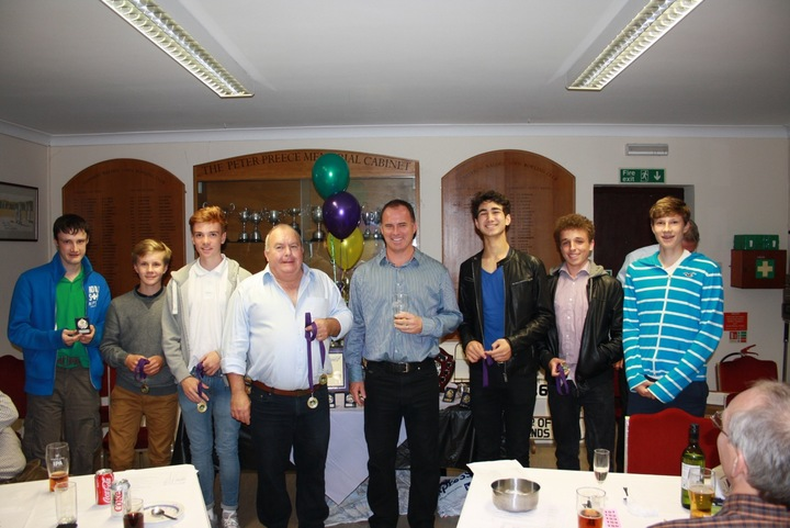 The 4th XI were all players of the year, especially the Thomas family
