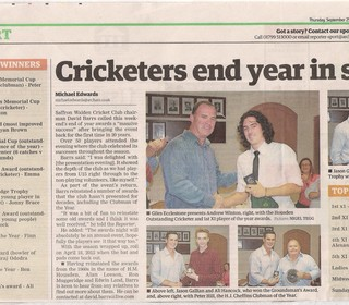 Coverage in the local press