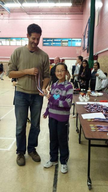 Olivia Chan, Colchester 2* U13 runner up