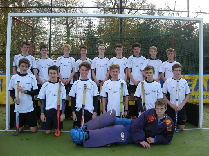 U16 Boys vs City of Bath - Nov 2014