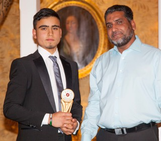 PTCC 2014 award winners: Danny Mohamed - Sunday 2nd XI Player of the year, left