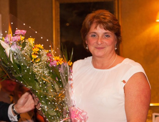 PTCC 2014 award winners: Award to our hard-working tea lady Julia French