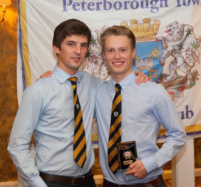 PTCC 2014 award winners: 1st XI medals after retaining Northants League Premier Division title for a third time