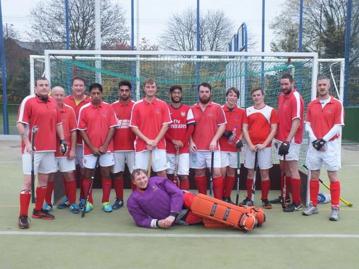 1st Team Group Photo v  Evesham