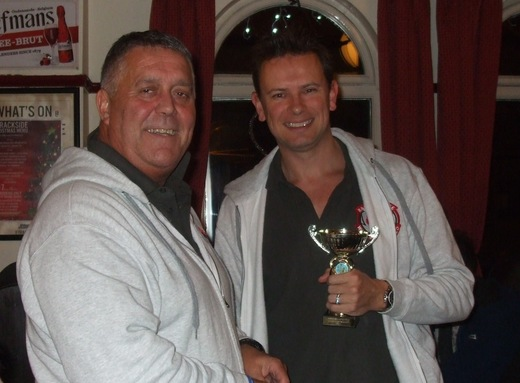 Chief Coaches award 2014 - Paul Speakman