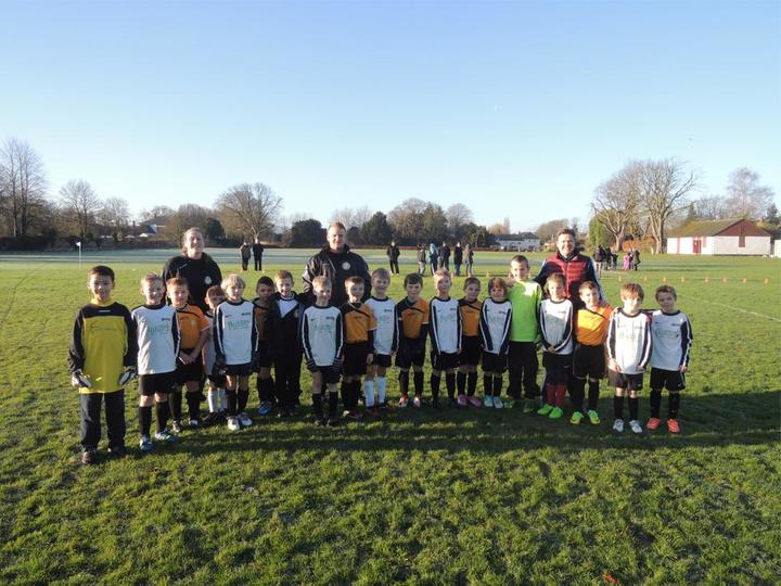 Bassingbourn Youth v Shephall Utd, Royston Crow League U9s, 13 December 2014