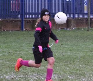 Katherine; Eyes on the ball