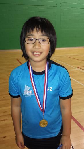 Wen - Yr 4/5/6 doubles winner