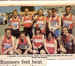 1994 City of Norwich Half Marathon