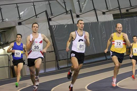 Iain Robertson 31 January 2015 Emirates Arena National Masters Indoor League