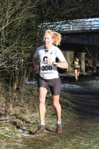 Pamela McCrossan 31 January 2015 - Kilmarnock - Scottish National XC Masters Championship