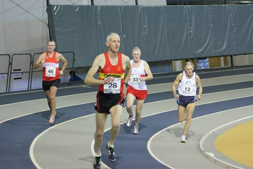 Pete Cartwright 31 January 2015 Emirates Arena National Masters Indoor Leauge