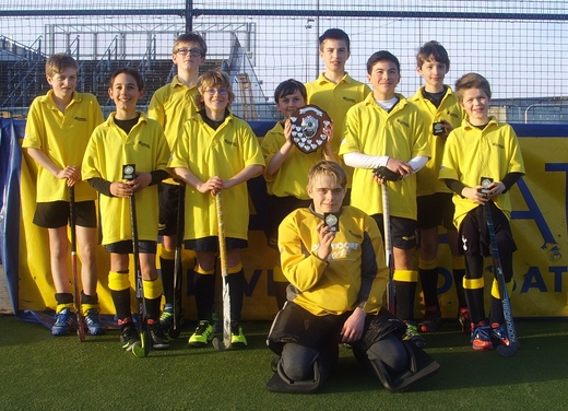 TBB U13 T'ment Winners Mar 15