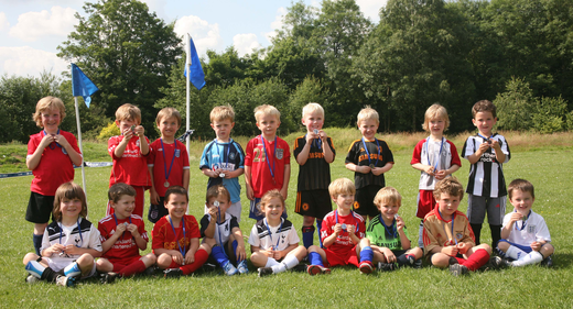 Marlow Youth U5s End 2011 Season