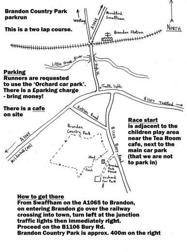 Brandon Country Park parkrun IP27 0SU