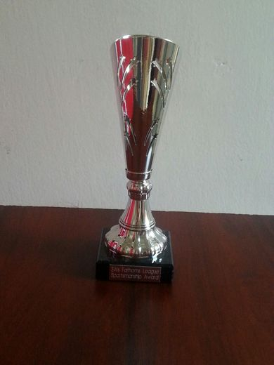 2nd X1 Fathom League Sportsmanship Trophy