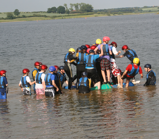 Just how many will fit on this raft?