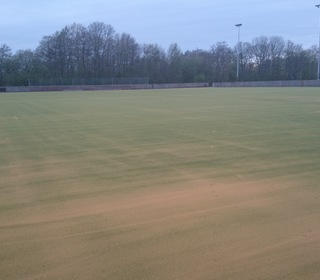 New sand on the pitch