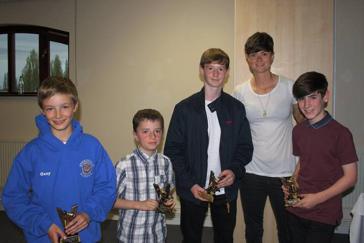 Boys award winners