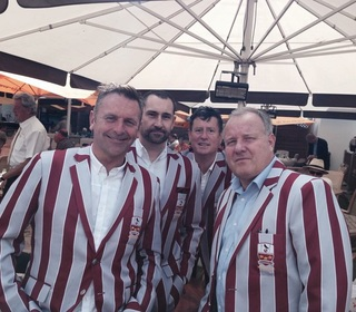 Ken Lingwood, Paul Webb, Rob Coote and Pete Harvey at Lords, 22nd May 2015