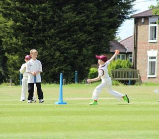 Great bowling action