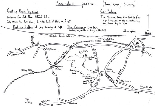 Sheringham parkrun NR26 8TL