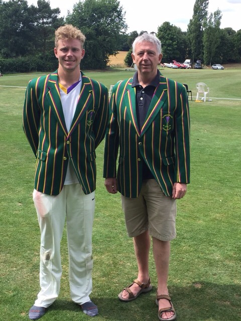 Club Chairman and 1st XI Captain display optional styles