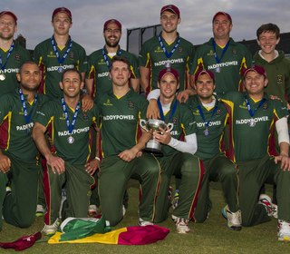 Alan Murray T20 final - 2015 winning team