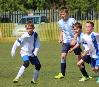 U10 Griffins v Shelton Seals: game action