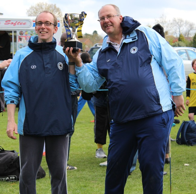 Peter Funnell, Mike Sutton : Proud coaches