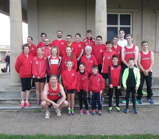 Dereham Runners team at the Norwich parkrun 3/1015