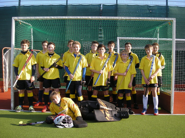U14 Boys at UWE Nov 2014