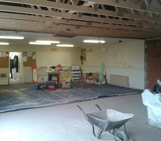 Clubhouse Building Works