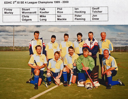 2000 3rd XI SE4 League Champions