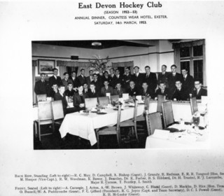 1952-1953 Annual Dinner