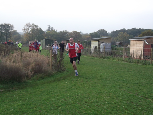 Brundall parkrun 31/10/15 with Martin Strowger