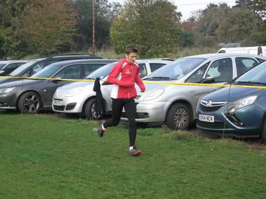 Brundall parkrun 31/10/15 with Nathan Protheroe