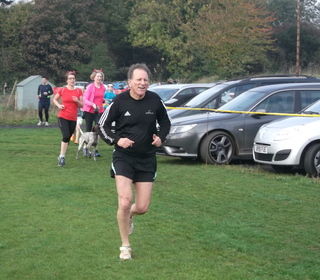 Brundall parkrun 31/10/15 with John Richardson