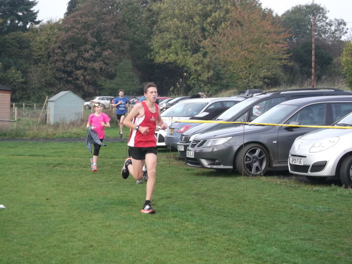 Brundall parkrun 31/10/15 with Jake Stearman