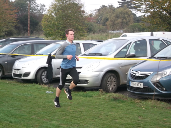 Brundall parkrun 31/10/15 with Tate Devlin