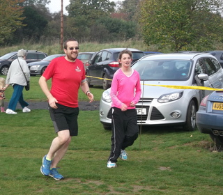 Brundall parkrun 31/10/15 with Malcolm Fisher