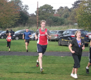 Brundall parkrun 31/10/15 with Ashley Jarvis