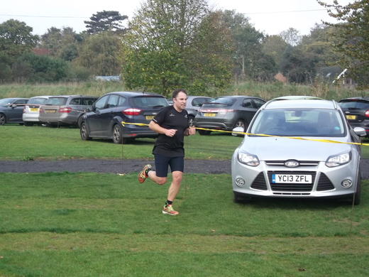 Brundall parkrun 31/10/15 with Steve Rix