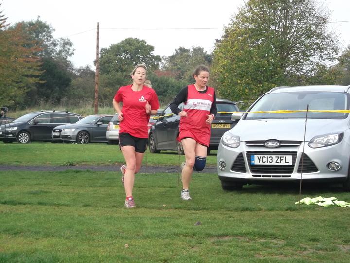 Brundall parkrun 31/10/15 with Kareana Symonds and Carol Devlin