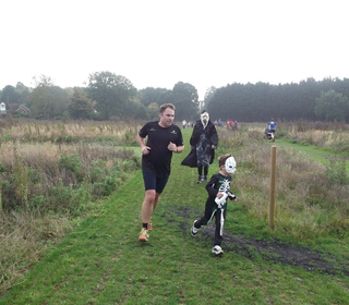 Brundall parkrun 31/10/15 with Steve Rix