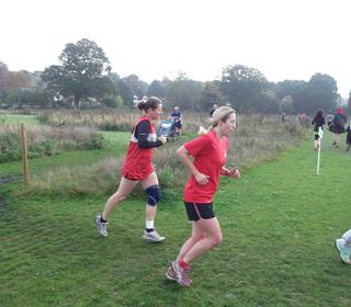 Brundall parkrun 31/10/15 with Carol Devlin and Kareana Symonds